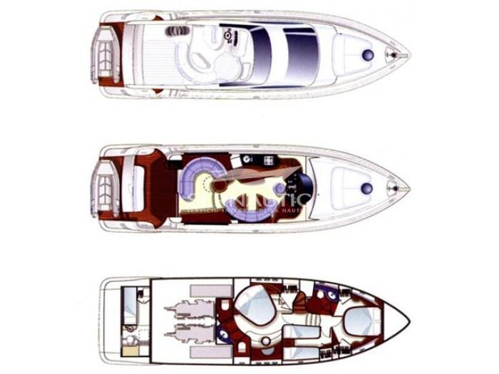 Barco segunda mano Azimut 55 año 2007【 OCASIÓN 】