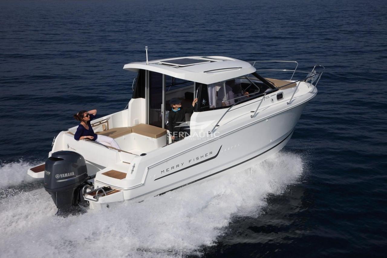 Barco segunda mano Jeanneau merry fisher 755 【 OCASIÓN 】