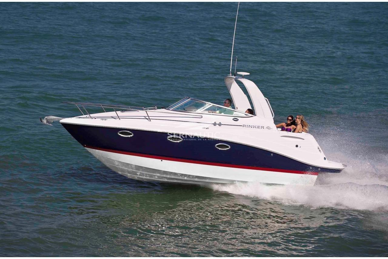 Barco segunda mano Rinker 260 año 2007【 OCASIÓN 】