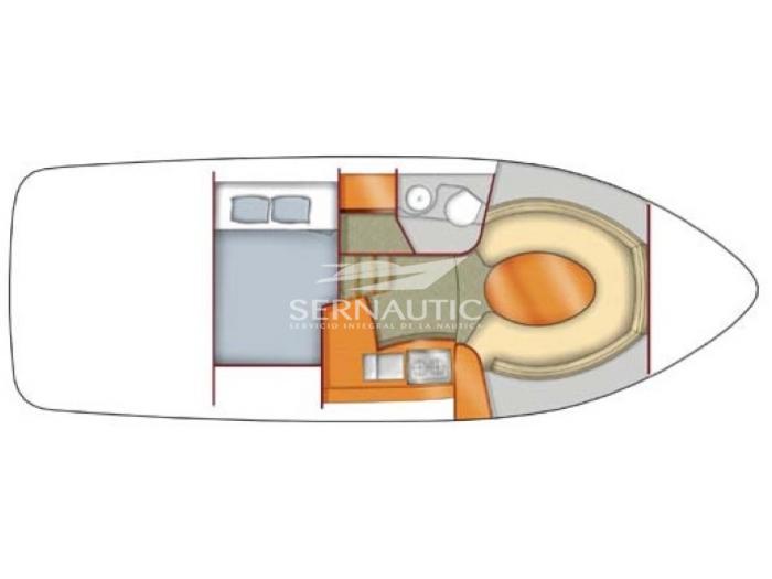 Barco segunda mano Sealine SC29 año 2006【 OCASIÓN 】
