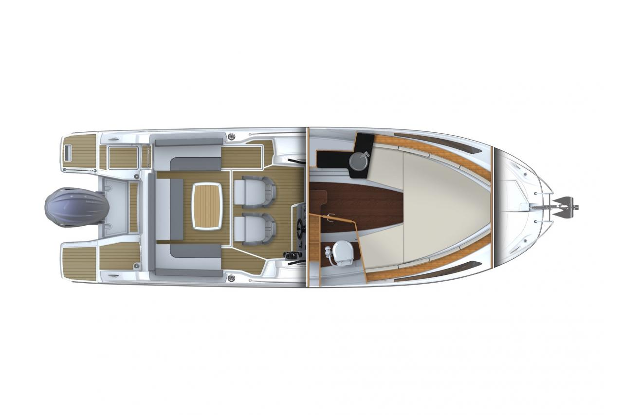 Cap Camarat 7.5 WA S3 - Precio Jeanneau Cap Camarat 7.5 WA S3 【 NUEVO 】
