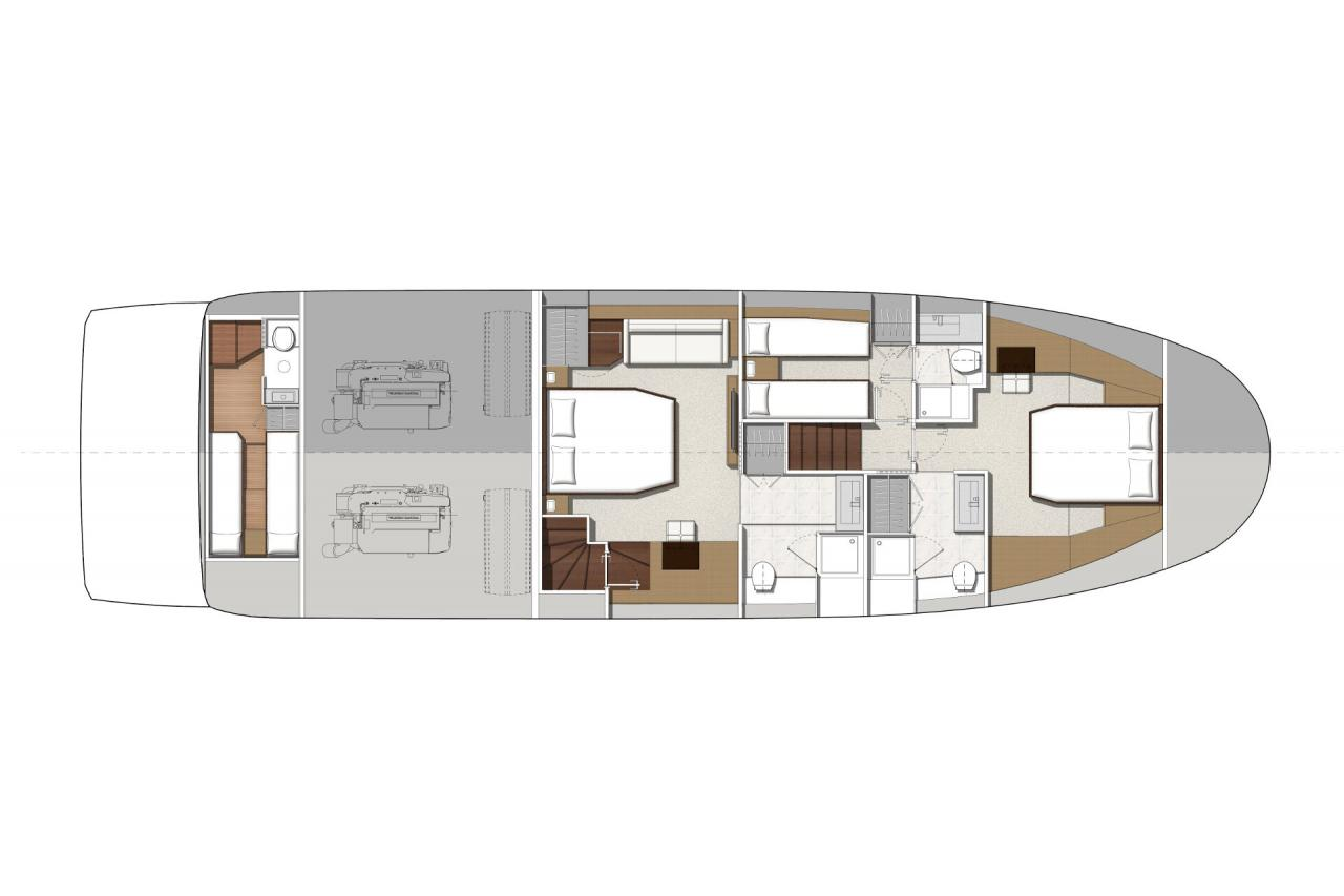 Prestige Yachts 630 S - Precio Yate Prestige 630 S【 NUEVO 】Sernautic