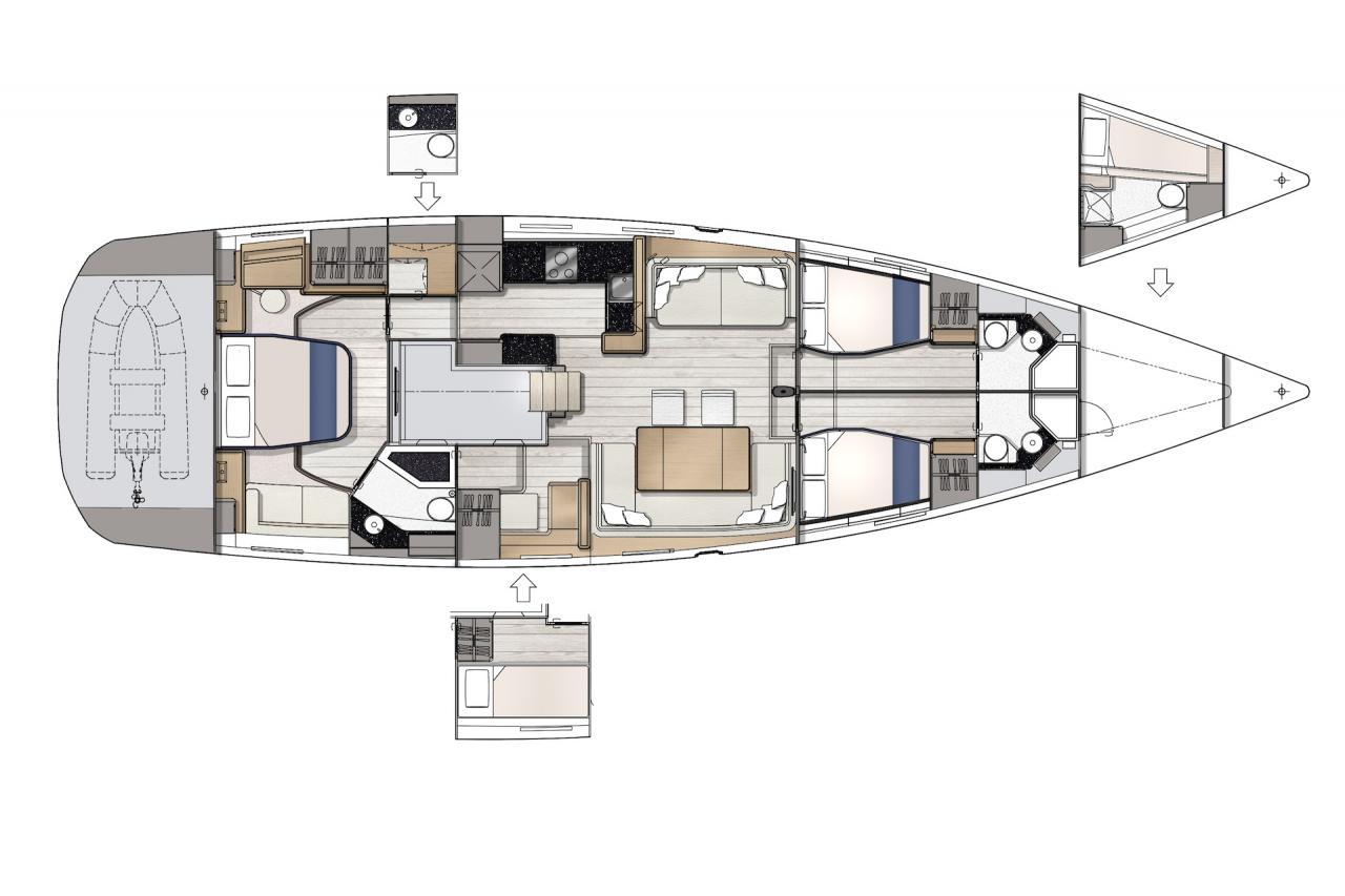 Jeanneau Yachts 65 - Precio Jeanneau 65 【 NUEVO 】Sernautic