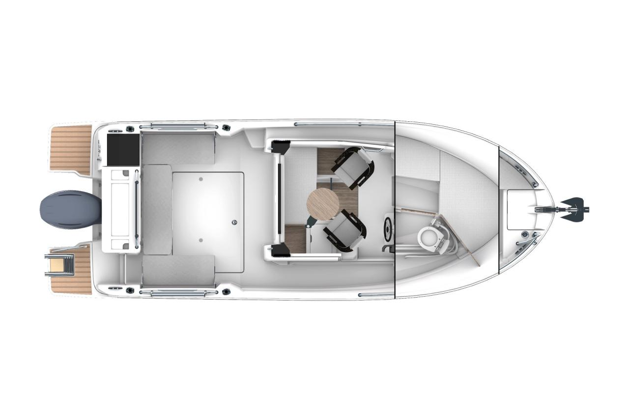 Merry Fisher 695 Sport - Precio Jeanneau Merry Fisher 695 Sport【 NUEVO 】 - Sernautic